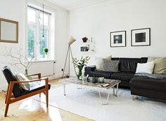 A 66 square meter apartment with vintage and modern accents