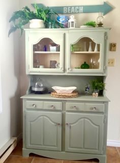 Re Loved Cottage Buffet and Hutch