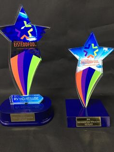 2016 Maryborough Eisteddfod school group trophies
