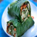 Rollos de verduras   #Receta de cocina   #Vegana - Vegetariana ecoagricultor.com