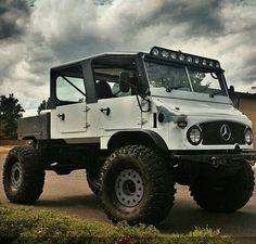 Classic Mercedes Unimog