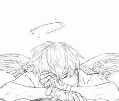 One of my favorite angel drawings