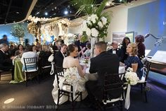 Photographer: Graham Hobart Reception Venue: The Perot Museum Florist: The Garden Gate Dallas Dfw, Night At The Museum, Science Museum, Museum Wedding, Unique Weddings, Wedding Reception, Wedding Planner, Marriage Reception, Wedding Planer