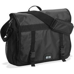Eastsport Black Messenger Bag
