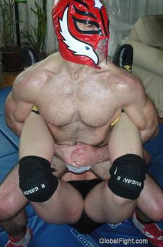 masked wrestlers picture archives images