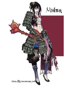 Mulan - KH by lilice-XD.deviantart.com on @deviantART