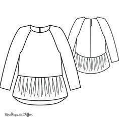 Blouse/Robe Mini MARTHE