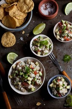 I need a good recipe for this!!! The photo is lovely! Ceviche / See and Savor w/Jade Broadus