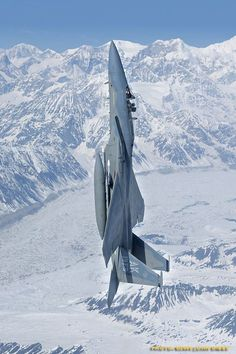 F-15 Playing in the skies over Alaska!
