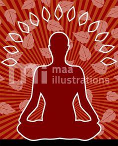 Free Yoga Illustration