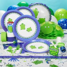 Turtle Themed Party Supplies