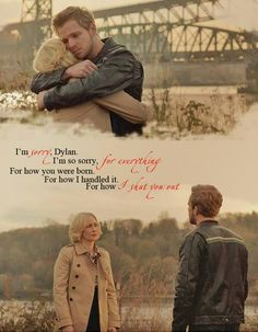 Bates Motel- Norma and Dylan <3 This scene was so sad and adorable. I know somewhere deep down Norma loves Dylan just as much as she loves Norman