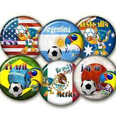 World Cup 2014Digital Collage Sheet 24 by elenis4youbanners, €1.44