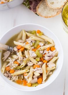 Penne Chicken Soup