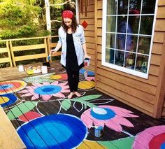 #FengShui tip from @TrishaKeelPhD Feng Shui Fun On The Run: Cure a missing Wealth gua with a wood deck to square the structure. Painting flowers adds vibrant life force. #FengShui #bagua #wealth #abundance #gua