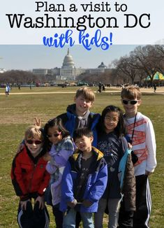 Spring Break Family Vacation Idea: Washington DC with Kids Washington Dc With Kids, Washington Dc Travel, Washington State, Camping With Kids, Travel With Kids, Family Travel, Spring Break Vacations, Road Trip Destinations, Family Road Trips