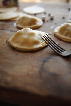 S'more hand pies. S'mores and pie???? My two favorites :)