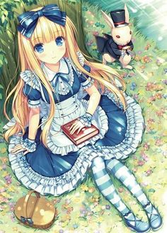 Anime Disney. Alice.
