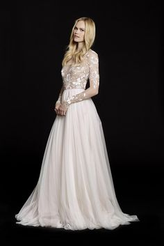 6553 by Hayley Paige @ Wedding Atelier