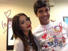 Risultati immagini per esperanza mia Mariano Martinez, Cute Couples, Celebrities, Coat, Music, Style, Cinema, Tv, Pink