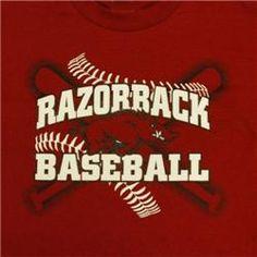 c77fccae3 Arkansas Razorbacks Adult T Shirt White Wordmark Cardinals Baseball,  Arkansas Razorbacks, Men Gifts,