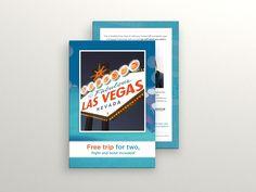 Las Vegas Postcard  by Bota Iusti