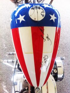 Goodwood Festival of Speed: stars and stripes bike
