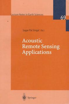 Acoustic Remote Sensing Applications