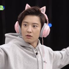Baekhyun, Park Chanyeol Exo, Exo Ot12, Chanbaek, Exo Variety Shows, Exo Memes, Kpop, Meme Faces, Reaction Pictures