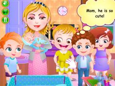 Baby Hazel Newborn Baby is Baby Fun Game for little kids and this time you have to take care of Baby Hazel and her Newborn Baby brother Matt.