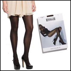 It may seem counterintuitive to invest in hosiery since they're so seemingly prone to runs. But when it comes to an opaque tight — something you can wear for half the year and remains a perennial, practical staple — it's worth paying a little more for hosiery that will last.
