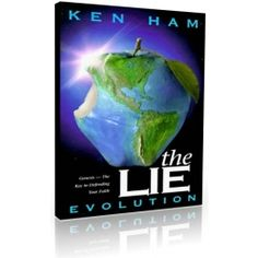 the lie book by Ken ham.  This book is an eye-opening look at the harmful effects of evolutionary thought on modern culture and religion. Author Ken Ham uses his years of teaching and ministry experience to expose the false teaching that is destroying children and families.