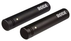 RODE - M5 Cardioid Condenser Microphones (2-Pack), Black