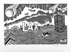 Find LA Exit by Stanley Donwood online. Choose from thousands of contemporary artworks from exciting artists expertly-vetted by Rise Art's curators. Buy art online with confidence with free art advisory. Stanley Donwood, Manchester Art, Rise Art, English Artists, Buy Art Online, Contemporary Artwork, Affordable Art, Art Fair, Art Google