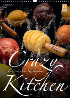Luxury Crazy Kitchen Der verr ckte K chenplaner CALVENDO Kalender von Olaf Bruhn