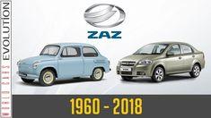 W.C.E - ZAZ Evolution (1960 - 2018) Evolution, Youtube, History, Cars, Historia
