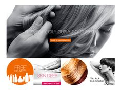 The design for our new e.commerce site with Regis Salons. Pretty swish if we do say so ourselves.
