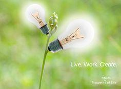 Prosperity of Life | Rachel Krider | Shane Krider | Personal Development | Success Education | Inspiration | Graphic Design | Quote | Create