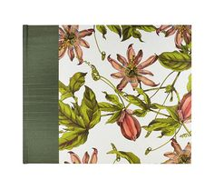 """Gorgeous any event Guestbook Traditional  """"Passion Flower"""" perfect for a #Garden event! just $40"""