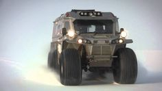 BADASS All Terrain Vehicle! If you're anything like us, you think that vehicles designed to take on the zombie apocalypse are aw Lifted Trucks, Big Trucks, Extreme Off Road Vehicles, Hors Route, Bug Out Vehicle, Terrain Vehicle, Expedition Vehicle, Camping Car, Zombie Apocalypse