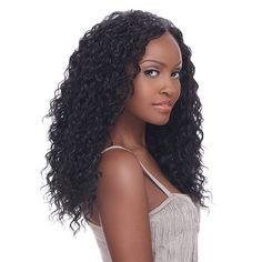 Sensationnel Human Hair Blend Weaving Style 360 Tropical 14,16,18