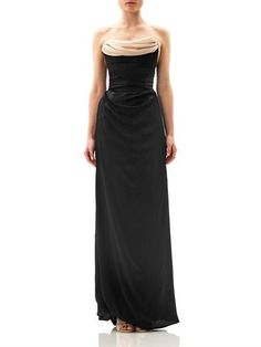Ball tie-back silk gown by Vivienne Westwood Gold Label