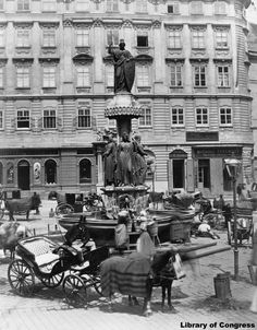 Freyung | vienna-timeline.com Vienna Austria, To Go, Neoclassical Architecture, Old Things, History, City, Timeline, Baroque, Photographs