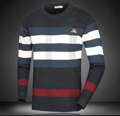 British Style Sweater (2 Colors) – BOJONI Mens Winter Sweaters, Sweater Jacket, Men Sweater, Skinny Guys, Winter Outfits, Winter Clothes, British Style, 2 Colours, Long Sleeve Shirts