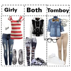 296e624b6eef Girly Tomboy Fashion, Tomboy Outfits, Girly Outfits, Snow White Outfits,  What I