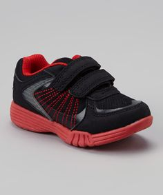 Love this Black & Red Light-Up Litas Sneaker by Carter's on #zulily! #zulilyfinds
