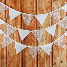Flavor In 12 Flag 3.2m Handmade Paper Lace Cotton Party Wedding Pennant Bunting Banner Decor Fashion Flag Baby Show Home Diy Decoration Fragrant