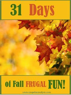 Frugal Ways to Make Memories this fall together as a family!