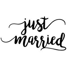 Silhouette Design Store: just married