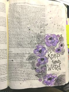 Numbers Bible art journaling by Bible 2, New Bible, Bible Journal, Journal Pages, Journal Art, Bible Doodling, Give Me Jesus, Illustrated Faith, Art Journaling